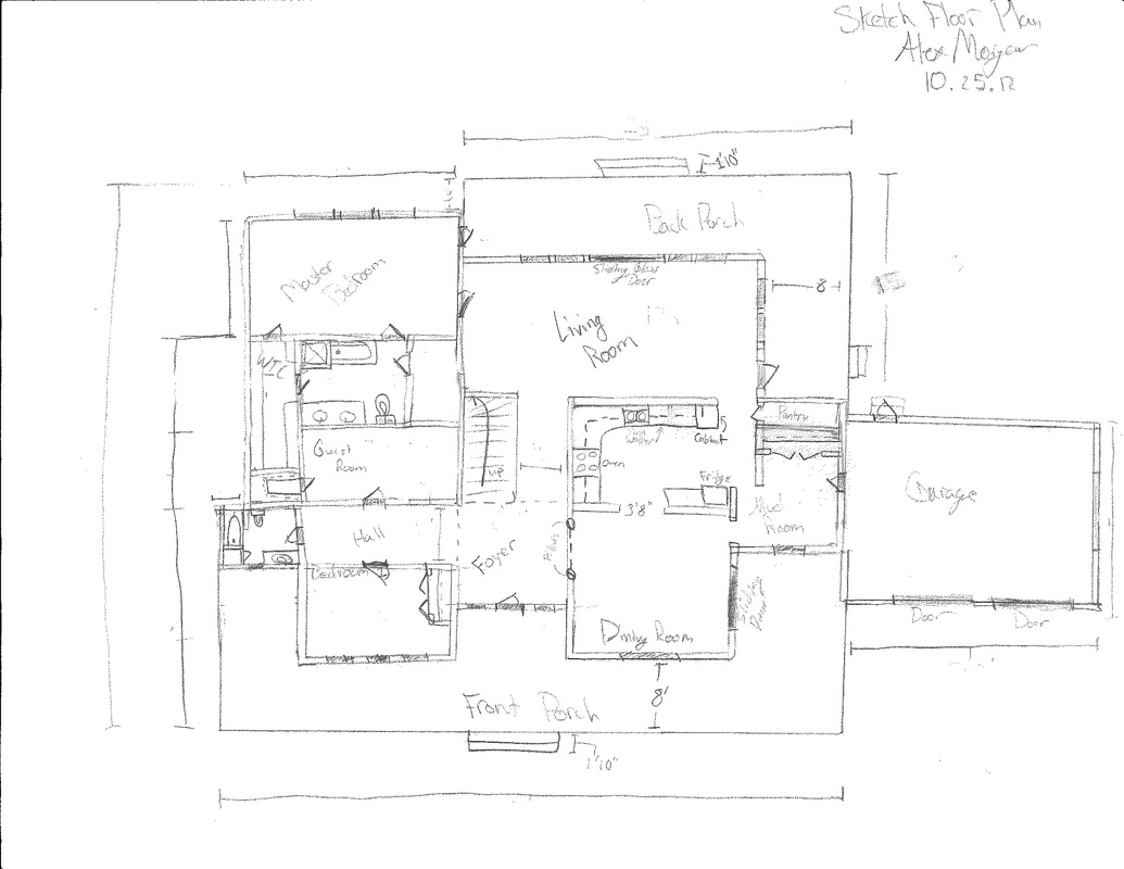 Draw up house floor plans house design plans for Floor plan sketch